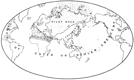 Interestingly, the geographical area that Mackinder identified as the Heartland closely corresponds to the geographical region that David Christian calls Inner Eurasia.