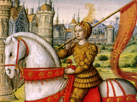 Joan of Arc was one of the most famous figures from the Hundred Years' War.