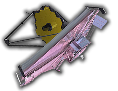 'The James Webb Space Telescope will offer unprecedented resolution and sensitivity from long-wavelength visible to the mid-infrared, and is a successor instrument to the Hubble Space Telescope and the Spitzer Space Telescope.' (from Wikipedia)