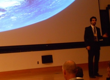 Zach Fejes gave a very polished and professional talk on 'Project Voyager: How We Get There'