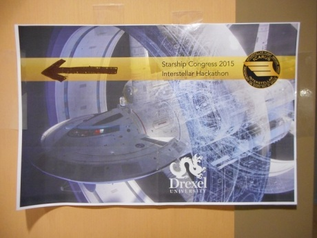 Starship Congress 2015 at Drexel University in Philadelphia, Pennsylvania.