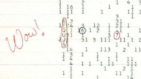 The 'WOW!' signal -- fugitive signature of intelligence in an otherwise lonely universe? Perhaps astroneurology will someday study neural architecture across biospheres and arrive at a non-anthropocentric measure of intelligence that could account for something like the 'WOW!' signal.
