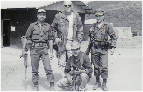 Hmong soldiers of the Secret War in Laos.