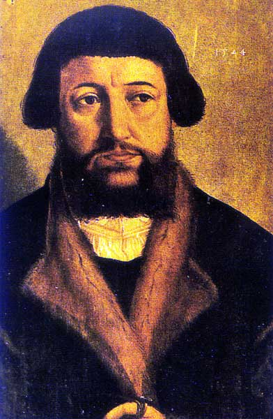 Andreas Osiander (19 December 1498 – 17 October 1552) was a German Lutheran theologian who oversaw the publication of Copernicus' De revolutionibus and added an unsigned preface that many attributed to Copernicus.