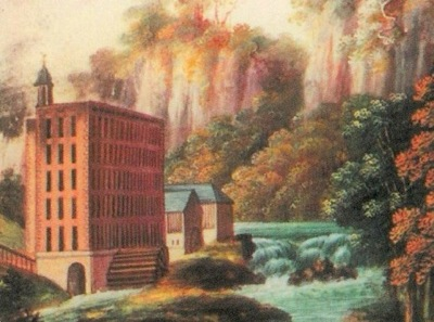 Richard Arkwright's water-powered Masson Mill