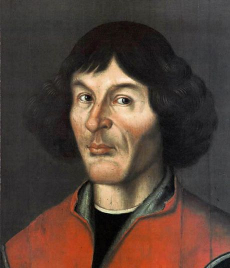Nicolaus Copernicus (1473–1543) -- Mikołaj Kopernik in Polish, and Nikolaus Kopernikus in German