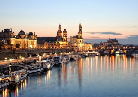 Much of Dresden's historic center has been rebuilt.