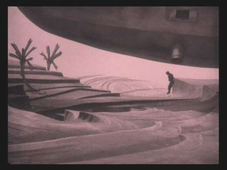 Landing on Mars in the 1925 German film Wunder der Schöpfung. Mars has long been the stuff of dreams.