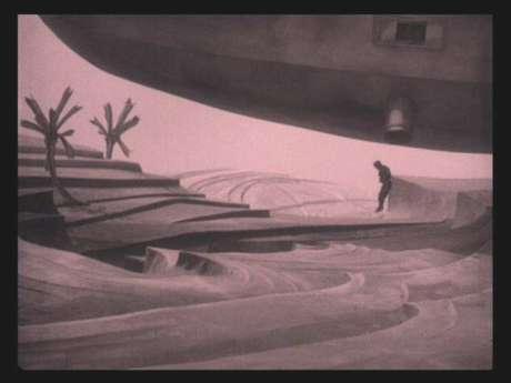Landing on Mars in the 1925 German film Wunder der Schöpfung. Mars has long been the stuff of dreams.
