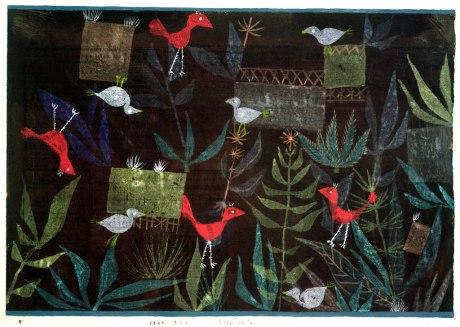 Paul Klee, Bird Garden, 1924
