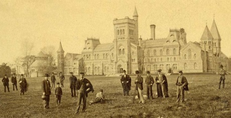 The University of Toronto more than a hundred years ago in 1910.